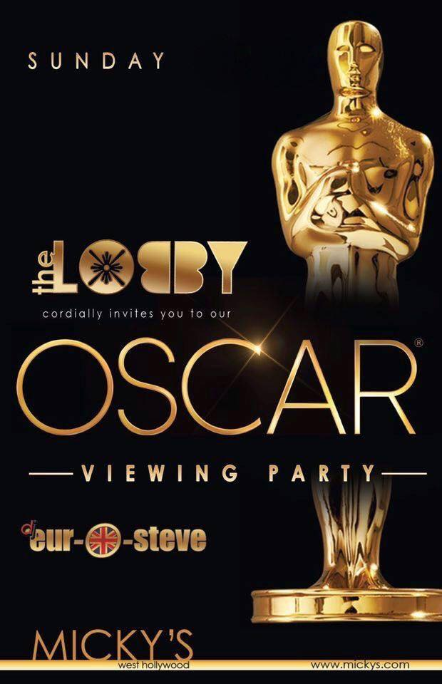 The Oscars in W. Hollywood!
