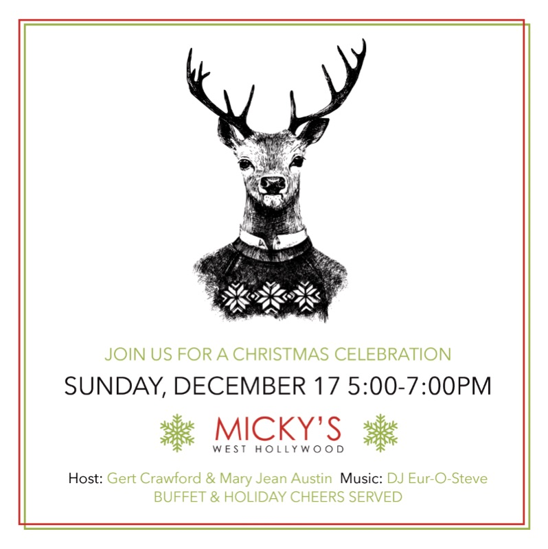 Micky's Holiday Party